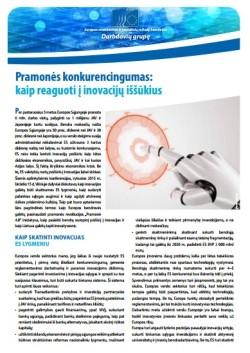 EESRK leidinys Pramonės konkurencingumas_kaip reaguoti į inovacijų iššūkius