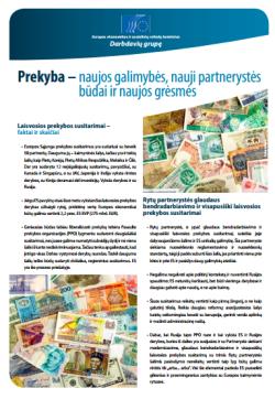 EESRK leidinys Prekyba – naujos galimybės, nauji partnerystės