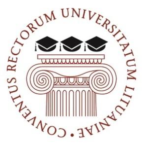 Lietuvos universitetų rektorių konferencija logo